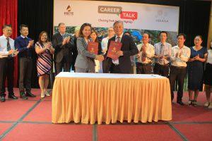 Lễ ký kết hợp tác giữa trường Cao đẳng Du lịch Huế và Công ty cổ phần Vinpearl