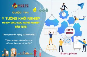"""Cuộc thi """"Ý tưởng sáng tạo khởi nghiệp HSSV Giáo dục nghề nghiệp"""" năm 2020 – Startup Kite"""