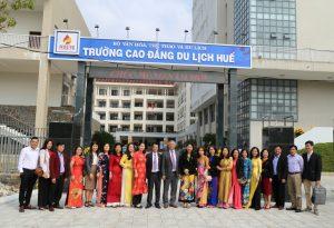 Gặp mặt đầu xuân Tân Sửu  và triển khai nhiệm vụ  năm 2021 tại Trường Cao đẳng du lịch Huế