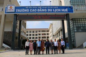 Buổi làm việc, trao đổi với trường Cao đẳng Văn hoá Nghệ thuật Đắk Lắk