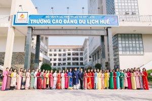 Kỷ niệm ngày Quốc tế Phụ nữ 8-3: Cùng tôn vinh vẻ đẹp chiếc áo dài tại HUETC