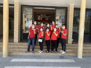 Đội ngũ nhân viên Villa Huế thực hiện chiến lược tiêm vaccin quốc gia để phòng chống dịch COVID 19, sẳn sàng phục vụ trong điều kiện bình thường mới