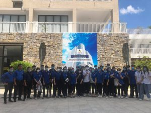 Trường Cao đẳng Du lịch Huế tổ chức tư vấn hướng nghiệp, giới thiệu về cơ sở vật chất nhà trường cho học sinh các trường THPT trú tại phường Vỹ Dạ, TP Huế