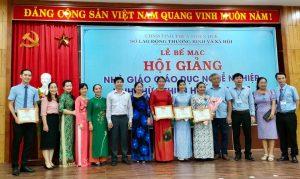 Hội giảng Nhà giáo Giáo dục nghề nghiệp năm 2021 Tỉnh Thừa Thiên Huế đã diễn ra hiệu quả, thành công trong bối cảnh ảnh hưởng nghiêm trọng của dịch bệnh Covid 19